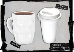 Mug & Paper Cup
